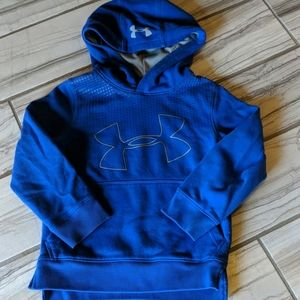 Cold gear Under Armor hooded sweatshirt size YXS